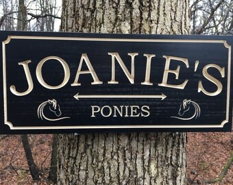 Custom Indoor/Outdoor Engraved Wood Sign, Family Name Sign with Arrow, Custom Carved Sign, Personalized Wooden Sign, Housewarming Gift