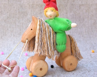 Wooden toy Horse,Horse toys ,Waldorf infant toys,Wooden Toys for kids,Horse,Best wooden toys,Kids gifts