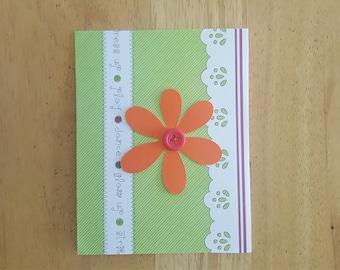 Fun Flower Blank Card
