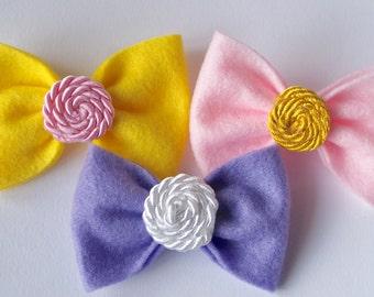 Candy Swirl Bows