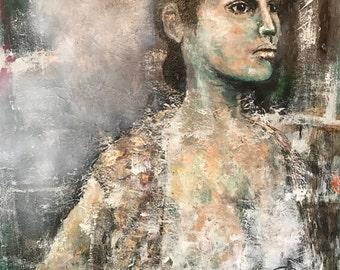 Anna's Spirit original painting