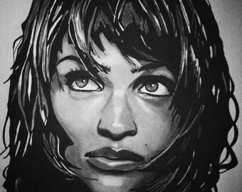Helena Christensen (Original Artwork)