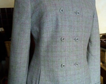 Vintage light grey jacket from the 60's