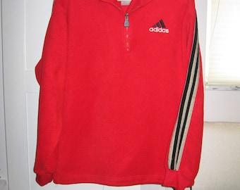 STOREWIDE SALE 50% OFF vintage Adidas fleece zip sweatshirt men's medium