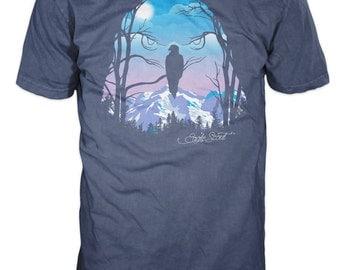 Eagle's Landscape T-Shirt  | Eagle Scout Gift | Official Licensed BSA Gear