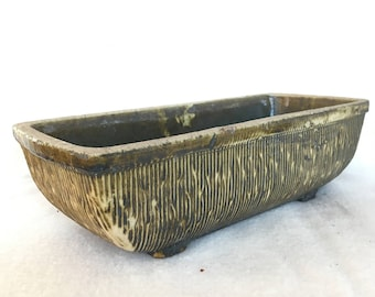 Large rectangular vintage flower pot/cactus planter