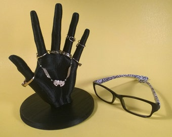 3D Printed Hand Ring Display Stand Jewelry Holder