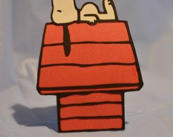 Snoopy Card, Snoopy Invitation, Snoopy Birthday Card, Snoopy Invite