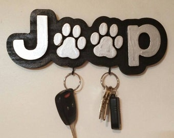 Jeep Paws Key Holder
