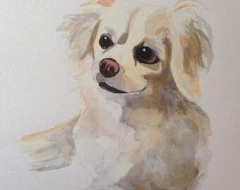Hand painted Custom portrait
