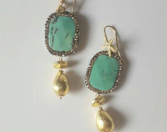 Crysophrase earrings