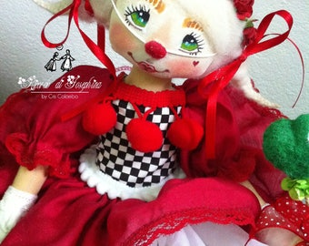Colour of Love Fabric Doll Decor