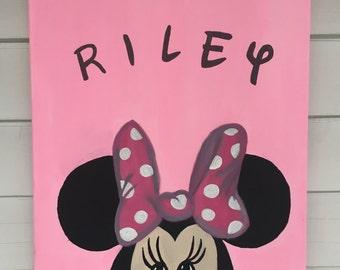 Disney Name Nursery Painting