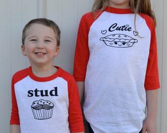 Sibling matching shirts - Brother Sister shirts - Brother sister matching outfits  - Brother Sister Tees - Sibling shirts - gifts for kids