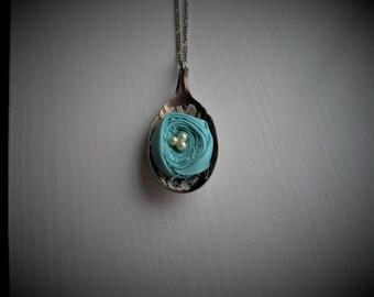 Vintage Spoon Necklace #383