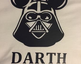 Disney Darth Vader Shirt