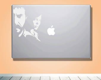 Laptop Macbook VINYL DECAL - Inspired by The Last of Us - Custom laptop Decal for boyfriend girlfriend friend  - Gift