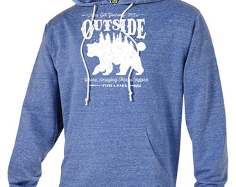 Get Outside Adventure Unisex Hoodie