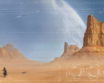Star Wars: Destiny Game Mat (1-4 Character)