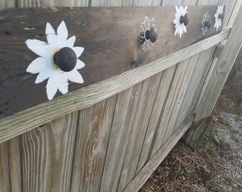 Coat Rack-Country Flowers