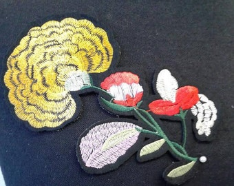 Iron-on Flower Patch Applique #7C1486