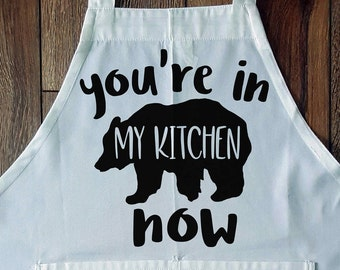 you're in my kitchen now