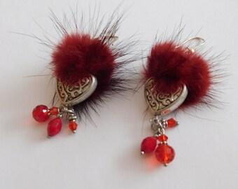 Pretty Feather Earrings