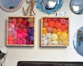 Floating Shelves - Wool - Storage - Storage Shelves - Yarn - Knitting - Crochet - Craft Storage - Knitting Patterns - Crochet Patterns