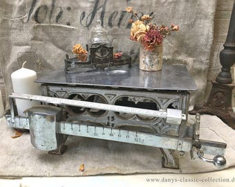 Vintage art nouveau baby scale brocante shabby chic decoration