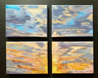 Original Canvas Painting AWAIT