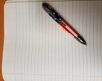 American Flag/Rifle Pen