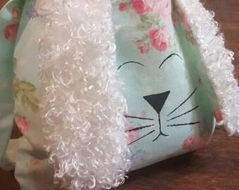 bunny bag, easter bag, easter basket, easter purse, bunny basket