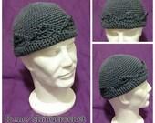 Jughead Hat in Grey (Whoopee Cap)
