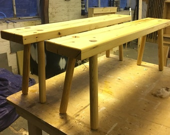 Re-claimed timber bench