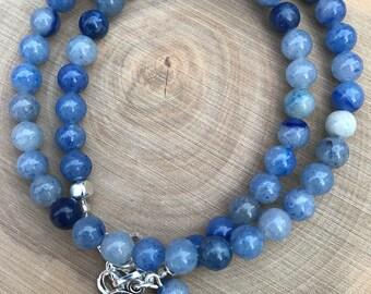 Third Eye Chakra Wrap Bracelet || Chakra Bracelet || Aventurine Bracelet || Boho Bracelet