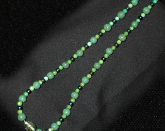 Pearls and Glass Necklace