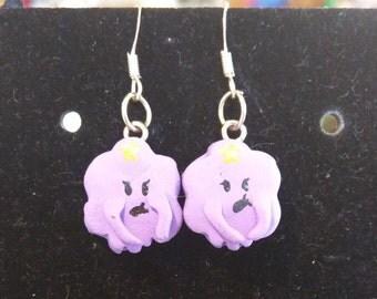 Adventure Time Lumpy Space Princess Earrings