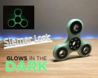 GLOWS IN DARK Ceramic Spinner Fidget