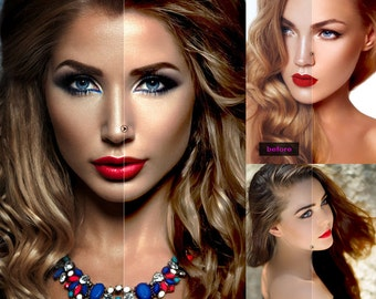 High Retouch Photoshop Action