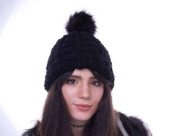 Beanie Hat - Customisable Bobble Hat with Pom Pom