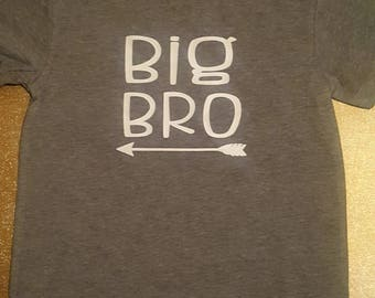 Big Bro toddler shirt
