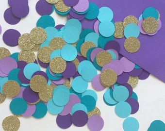 Mermaid Confetti, Mermaid Table Decorations, Mermaid Table Decor, Mermaid Party Confetti, Mermaid Table Confetti, Under The Sea Confetti
