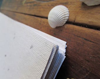 Recycled Hand Made Paper - pack of 20 - A4 sheets - 21 x 29.7 cm