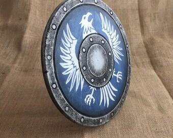 Bird of Prey wooden shield (buckler)