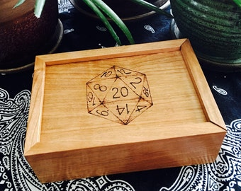 D20, Dodecahedron Dice Box
