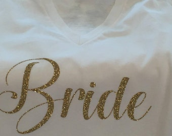 Personalized Wedding Party TShirts
