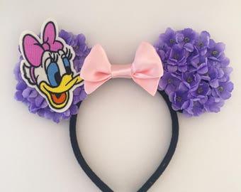 Daisy Duck Floral Ears