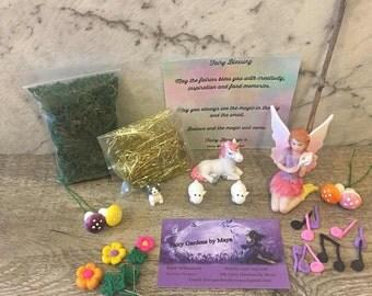 Fairy Garden Starter Kit. Dancing in the Meadow