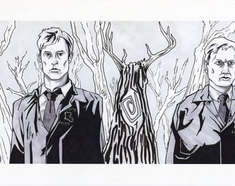 Two Detectives Print