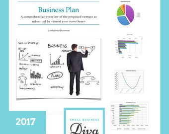 New for 2017: Premium Business Plan Package w/ Financial Statements for Start Up or Existing Business - Microsoft Word, Excel, SBA Loans,